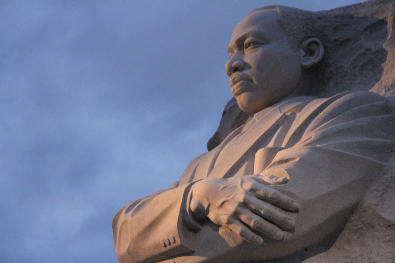 Dr. Martin Luther King, Jr, memorial. Sculptor: Lei Yixin, 2011. Photo: T. M. Adair, 2017.